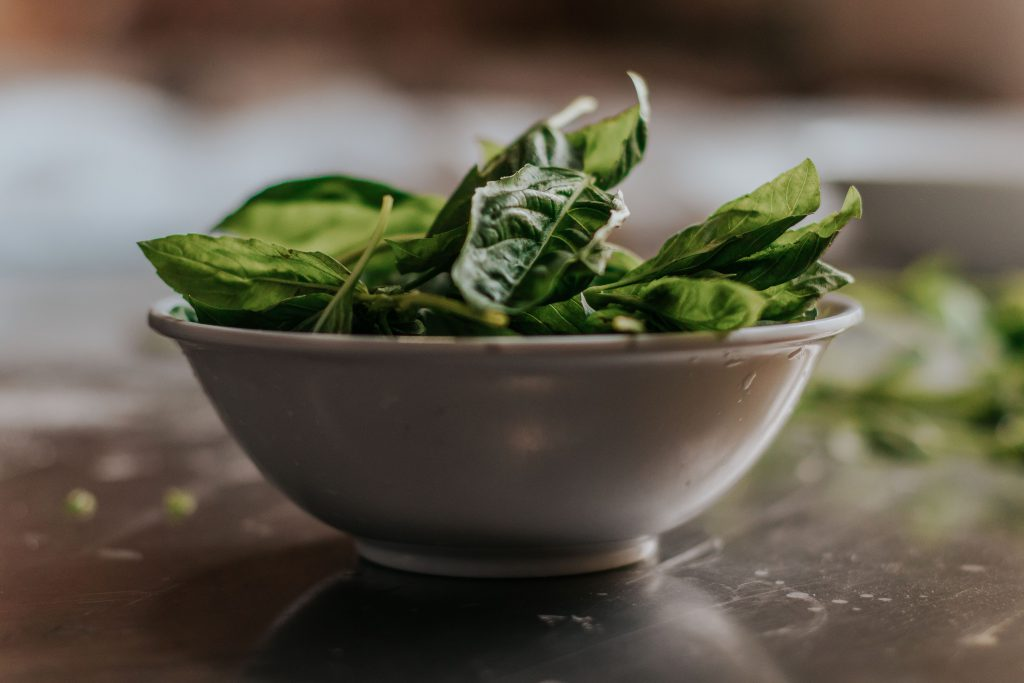 tagliatelle zalm en spinazie